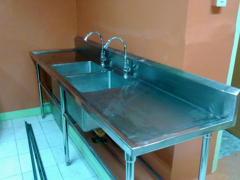 Stainless Restaurant Kitchen Sink